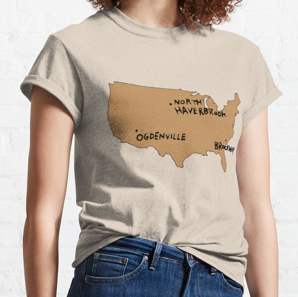 Ogdenville, North Haverbrook and Brockway Classic T-Shirt