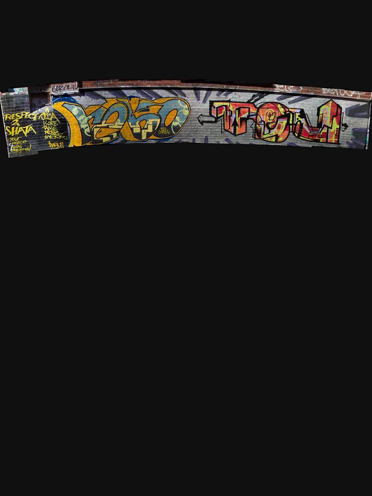 melbourne graffiti by jjbarrows