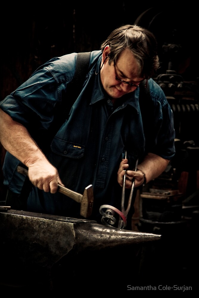 Mont De Lancey Blacksmithing 1 by Samantha Cole-Surjan