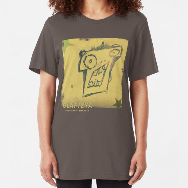 Sticky Note drawing Slim Fit T-Shirt