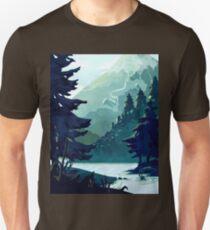 Canadian Mountain Unisex T-Shirt