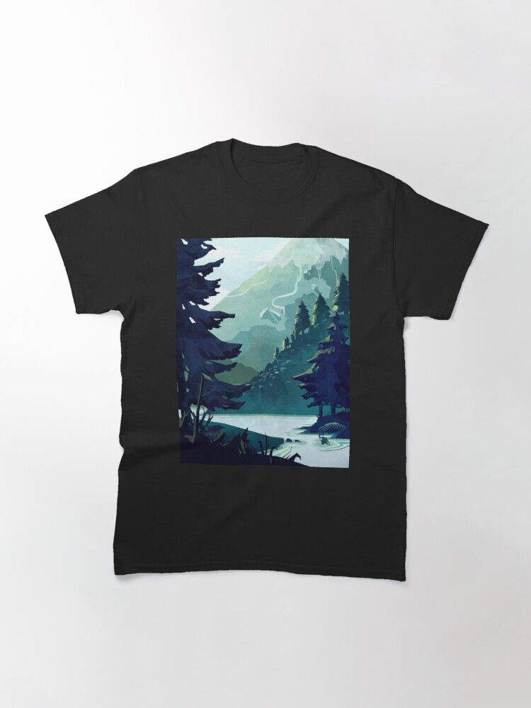 Alternate view of Canadian Mountain Classic T-Shirt