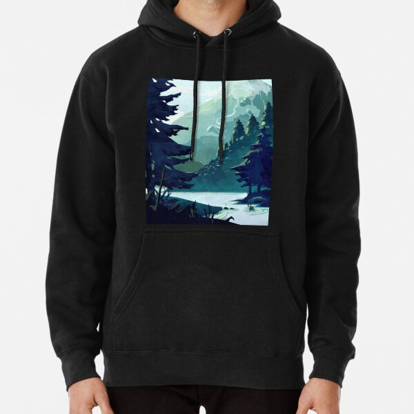 Canadian Mountain Pullover Hoodie