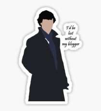 I'd be lost without my blogger Sticker