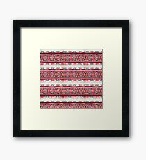 Knit Native Look Print Framed Print