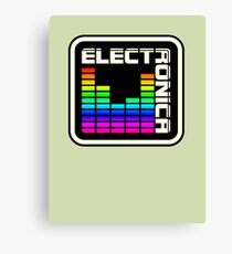 Electronica Colorful Meter Canvas Print