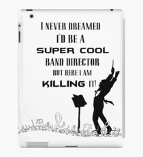 Band director iPad Case/Skin