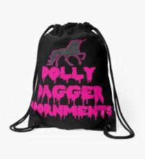 Unicorn DDA Logo  Drawstring Bag