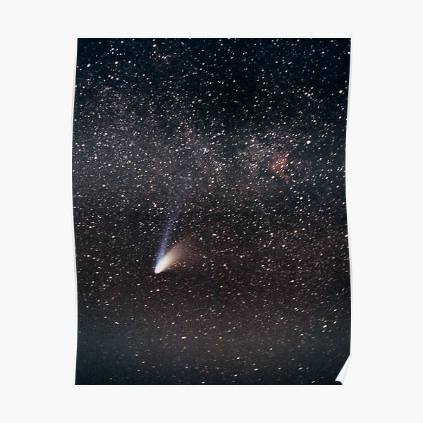 Comet Hale-Bopp Poster