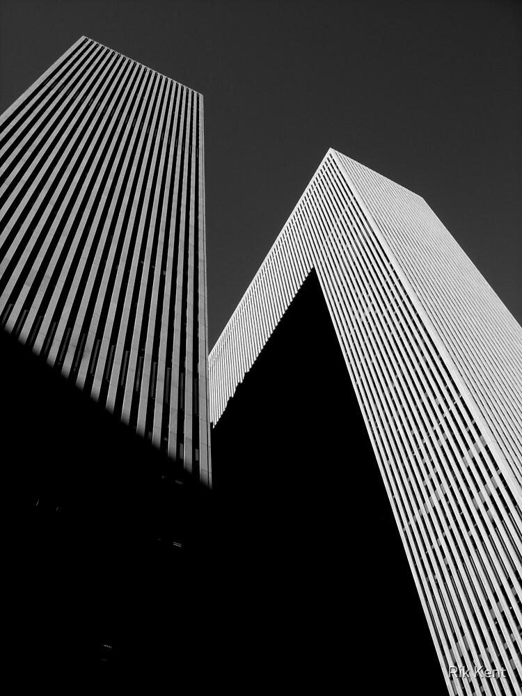 Angular Towers by Rik Kent