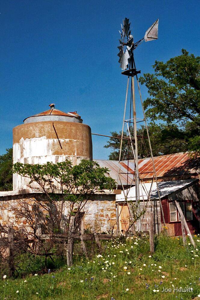 House and Windmill by Joe Hewitt