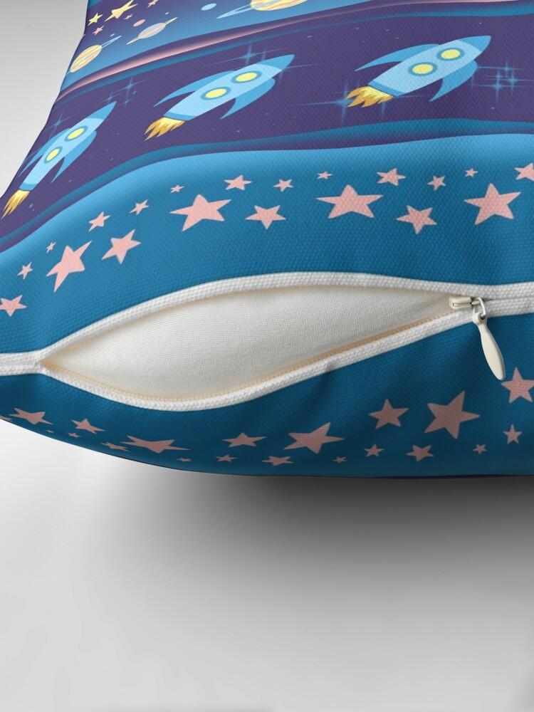 Alternate view of Space Explorer Throw Pillow