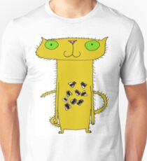 This cat . . .  crunches flies T-Shirt