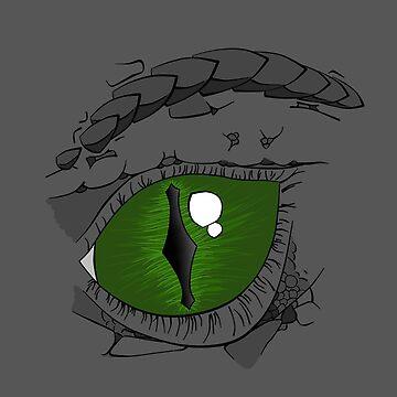 Dragon Eye - Left by ASoullessRanga