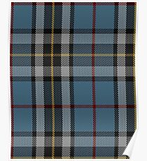 MacTavish Dress Clan/Family Tartan  Poster
