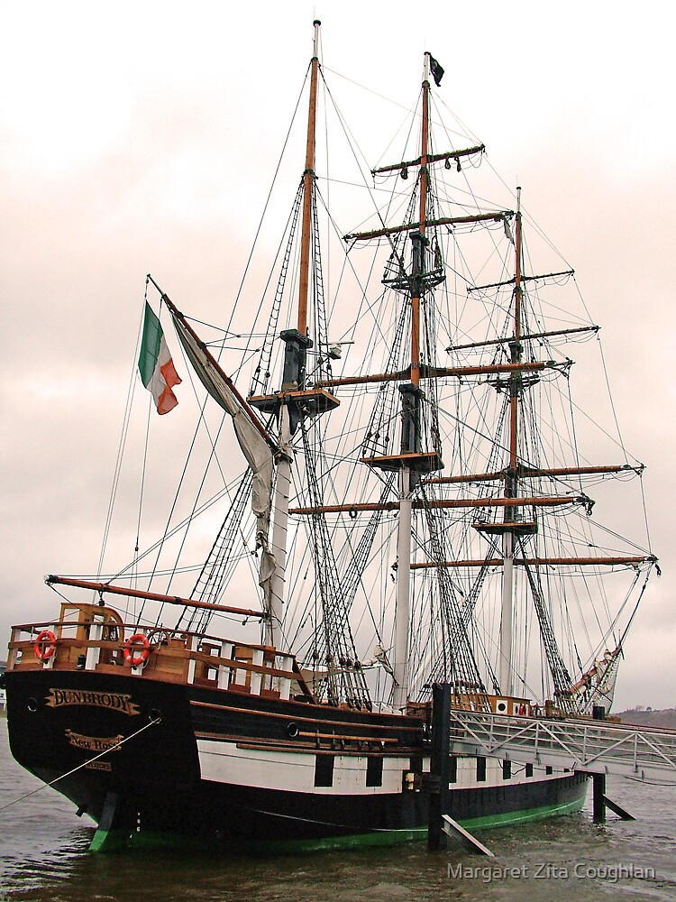 The Dunbrody Famine Ship, New Ross, Co. Wexford. Ireland by Margaret Zita Coughlan