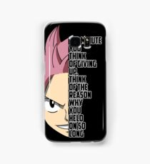 Reason To Never Give Up Samsung Galaxy Case/Skin