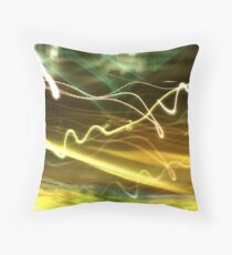 Electronica Throw Pillow
