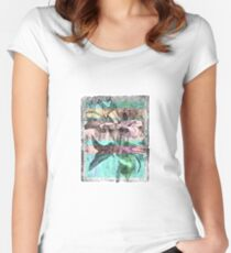 A branch of lily - 3 Women's Fitted Scoop T-Shirt