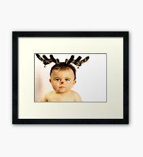 Rudolph!!!! Framed Print
