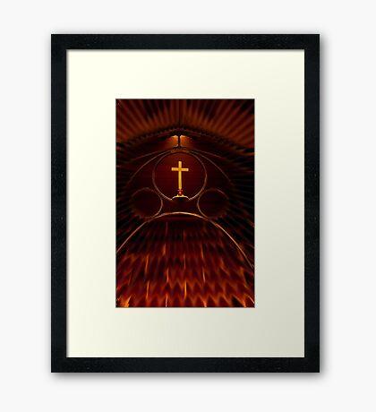 """""""The Light Of The World"""" Framed Print"""