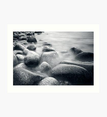 Boulders Art Print