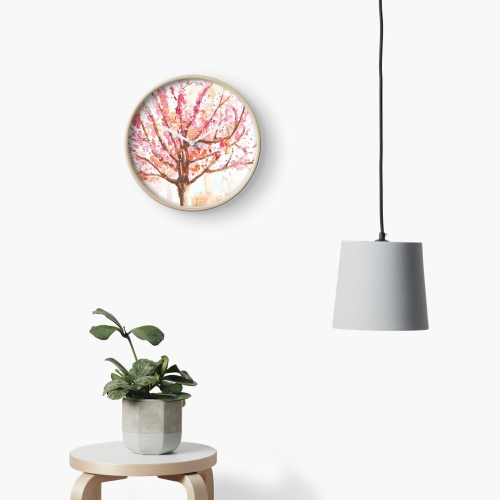 Brussels blossom Clock
