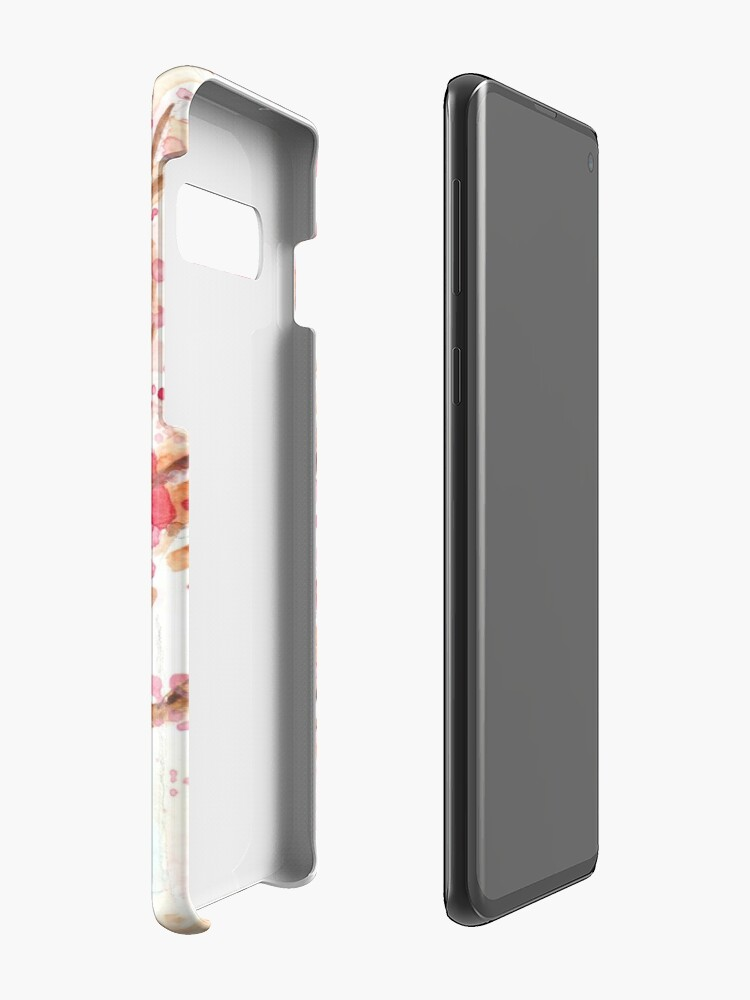 Alternate view of Brussels blossom Case & Skin for Samsung Galaxy