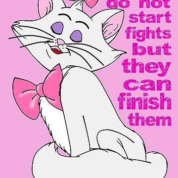 Ladies do not start fights by ASoullessRanga