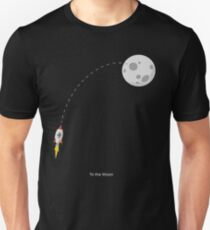 Ethereum -To the Moon Unisex T-Shirt