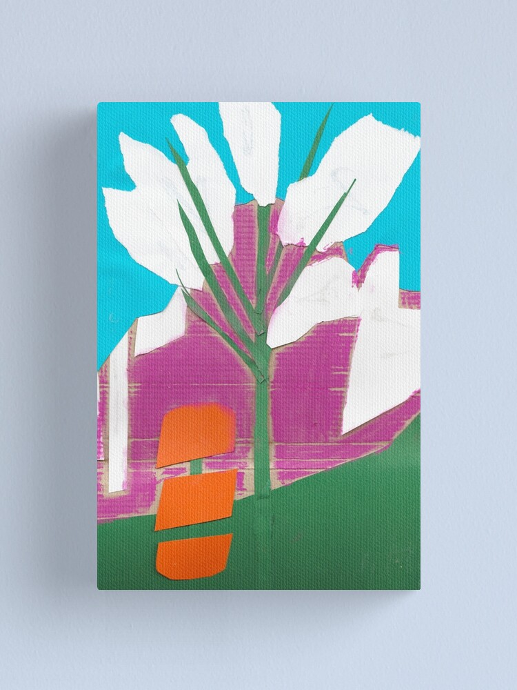 Alternate view of April blossom collage Canvas Print