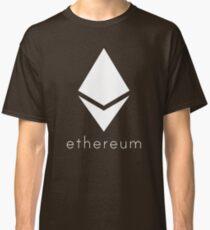 Ethereum Pure White Diamond Classic T-Shirt