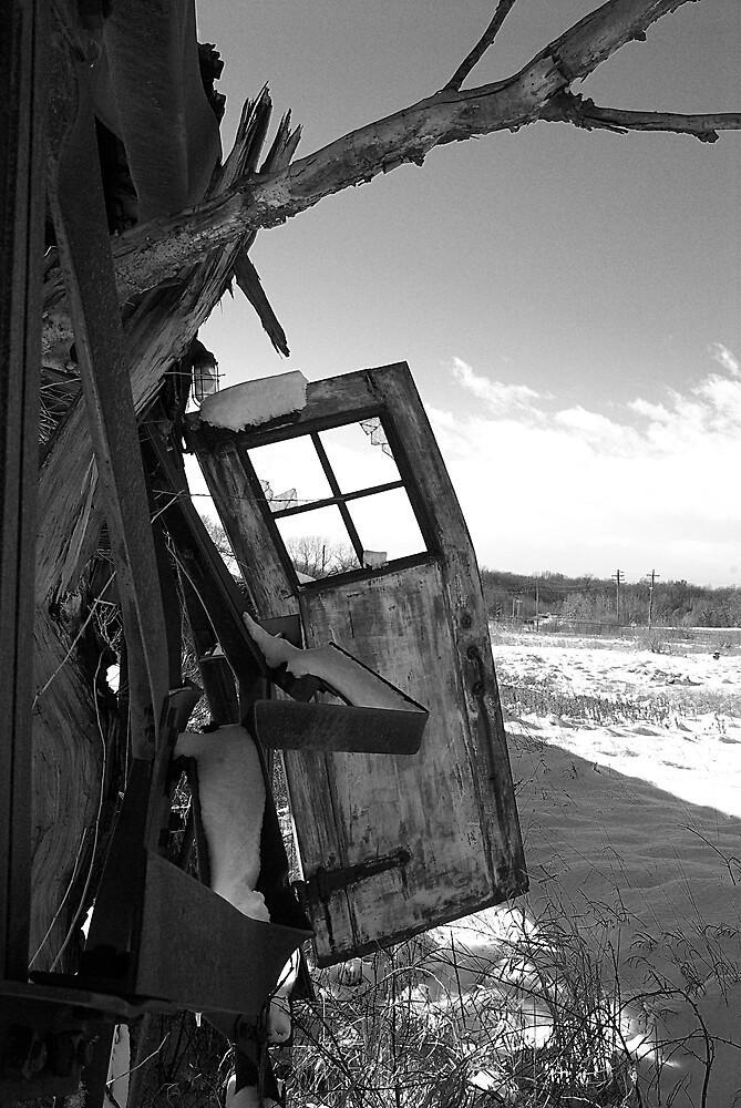 Door Ajar by Michael Gatch