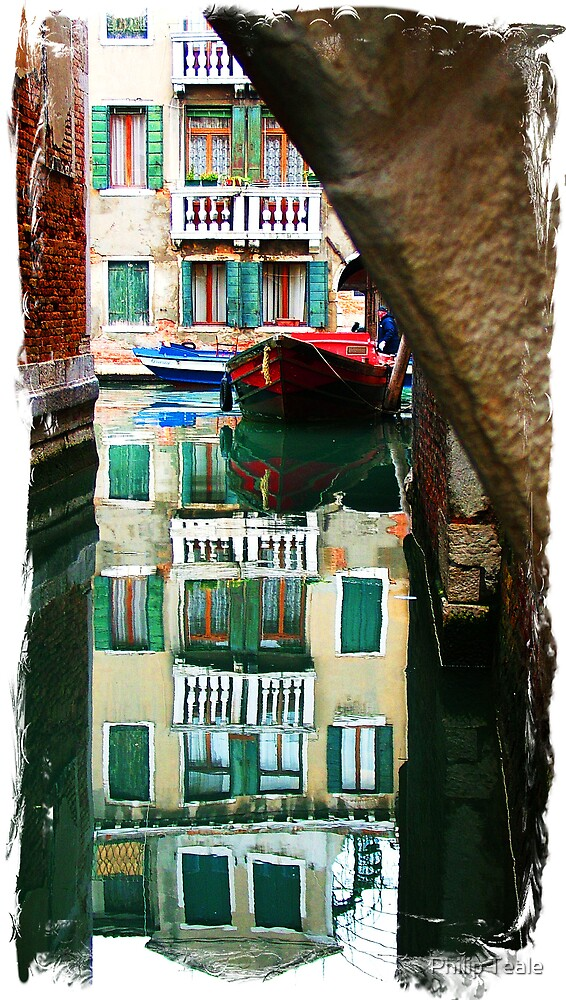 Venetian Reflections by Philip Teale