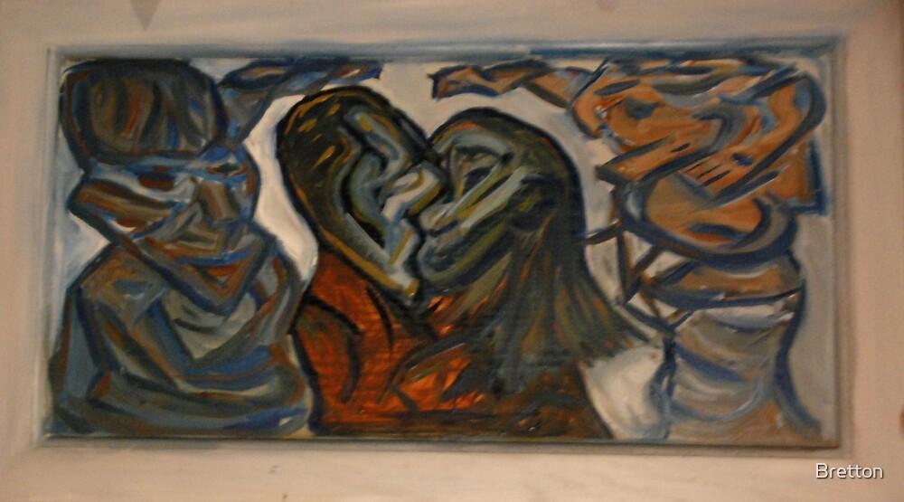 Entagled lovers by Bretton
