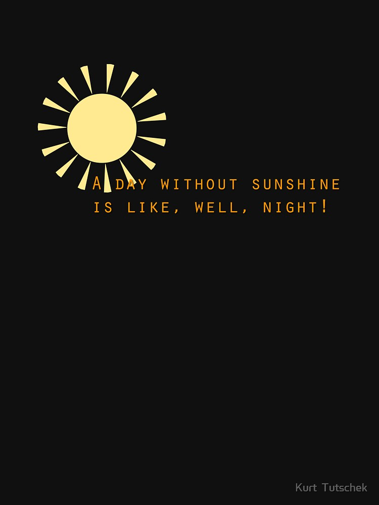 A day without sunshine by tuku