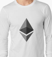 Ethereum Crypto Currency Long Sleeve T-Shirt
