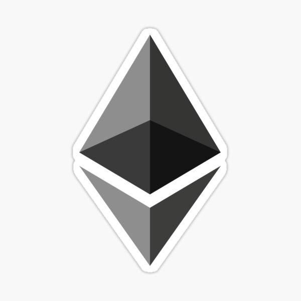 Ethereum Crypto Devise Sticker