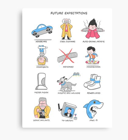 Future Expectations Canvas Print