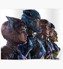 Team Rangers - Power Rangers Poster