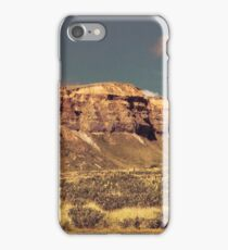 campervan car travelling New Zealand landscape iPhone Case/Skin