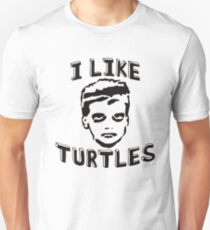 I Like Turtles Funny T-Shirt and Stickers Unisex T-Shirt