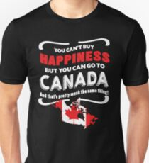 CANADA HAPPINESS T Shirt Unisex T-Shirt