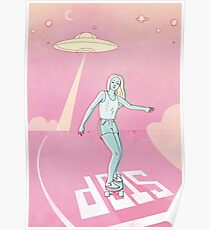 sk8 sci-fi Poster