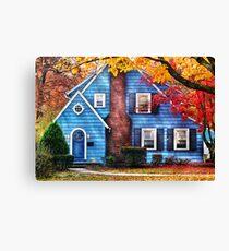 Little dream house  Canvas Print