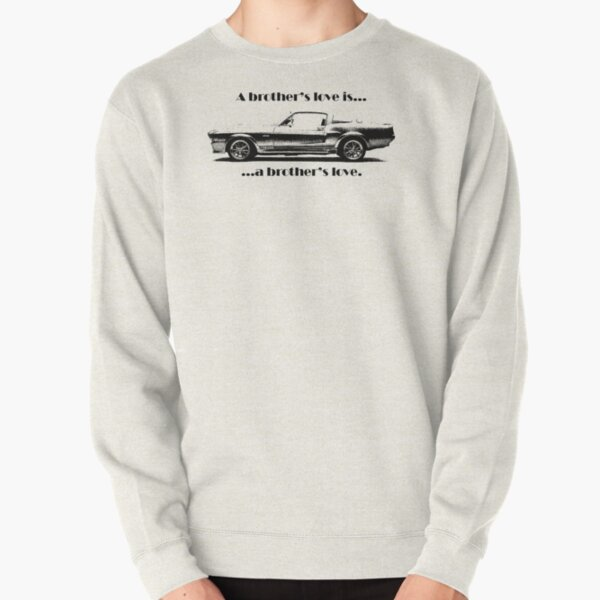 67 MUSTANG COUPE HOODIE ILLUSTRATED CLASSIC RETRO MUSCLE SPORTS CAR