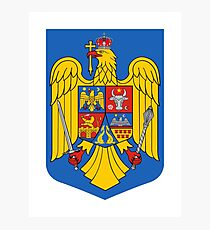Romania Coat of Arms Photographic Print