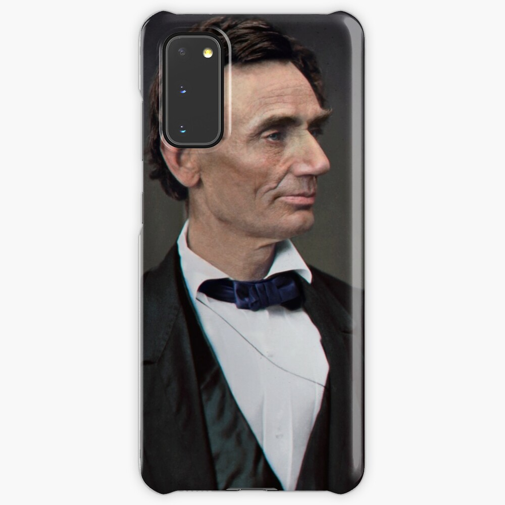 Abraham Lincoln, circa 1863 Case & Skin for Samsung Galaxy
