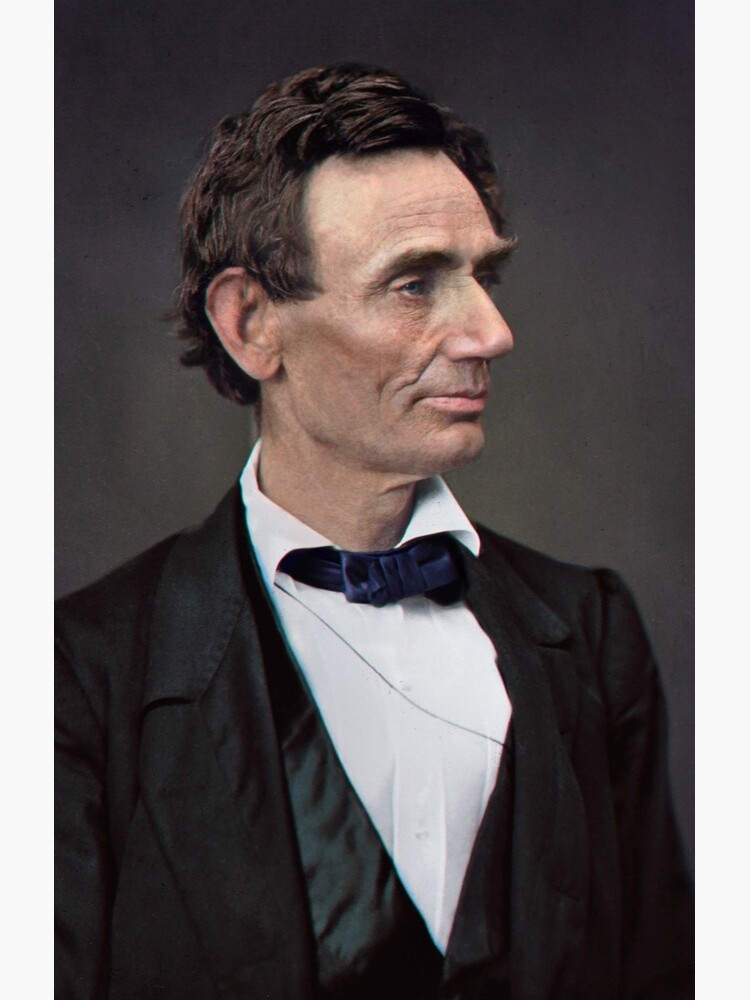 Abraham Lincoln, circa 1863 by marinamaral