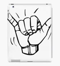 BJJ MMA SHAKA HANDS  iPad Case/Skin